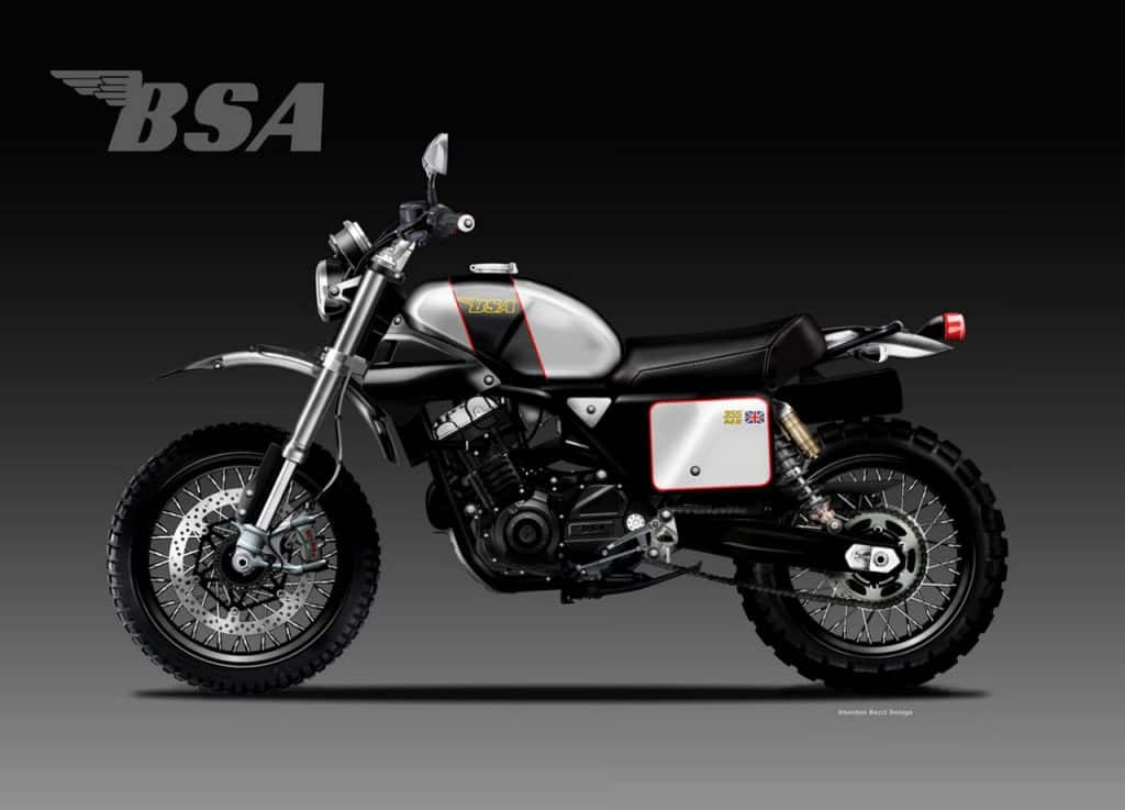 This Is How The First Next Gen Bsa Bike Will Look Like