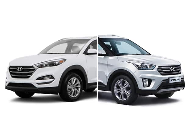 hyundai tucson 2016 vs hyundai creta what 39 s the difference find new upcoming cars latest. Black Bedroom Furniture Sets. Home Design Ideas