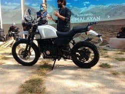 Royal Enfield Himalayan FI BS-4 Images Leaked; Price in India, Booking Details & Launch Date Revealed