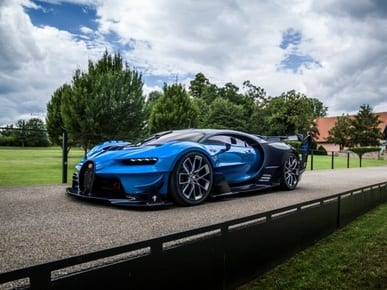 Bugatti Chiron and Vision GT Concept get their first buyer