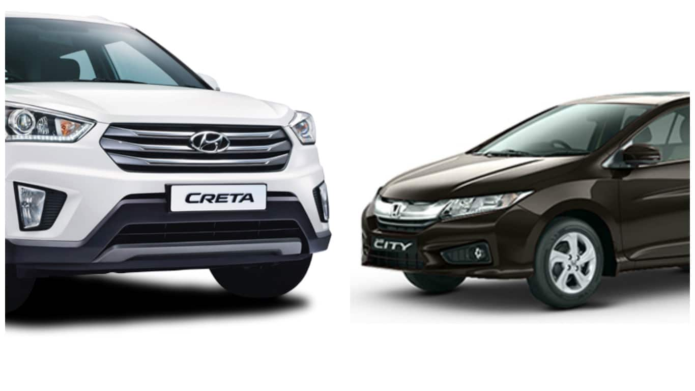 Honda City Vs Hyundai Creta: A Sedan Or A Compact SUV As A