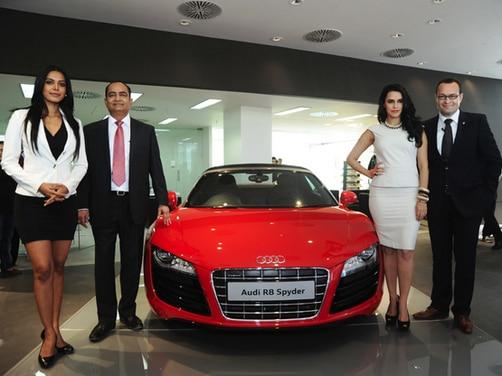 Audi India inaugurates largest showroom in Gujarat