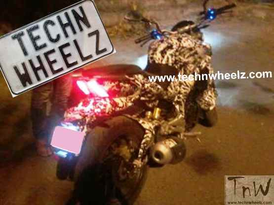 Bajaj Pulsar CS400 launching soon; Spied testing in India
