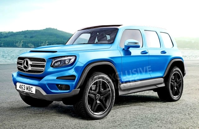 Mercedes benz glb suv based on mfa2 under development for Upcoming mercedes benz models