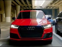 Audi SQ7 stars in action flick Captain America: Civil War