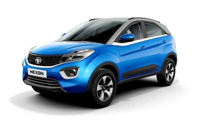 2017 Tata Nexon interior images spied; gets driving modes