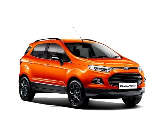 Ford EcoSport 'Black Edition' launched in India at INR 8.58 lakh