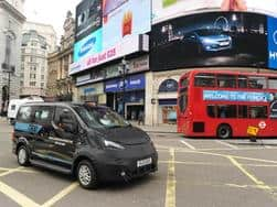 Nissan NV200 (Evalia) London Taxi hits final phase of testing