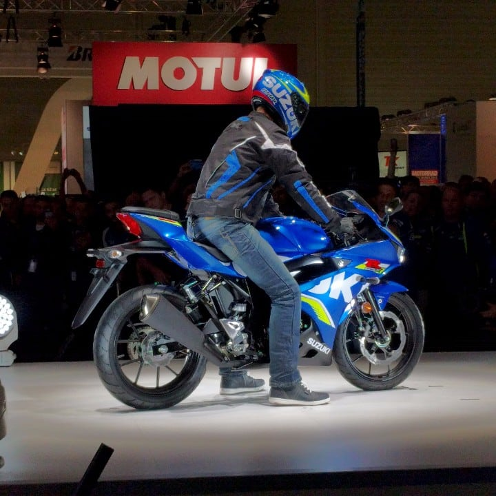 Suzuki Unveils 2017 GSX-R 125 At Ongoing Intermot Motor