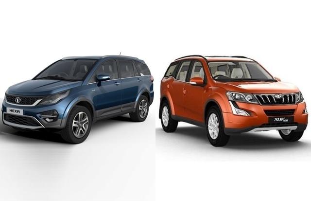 Tata Hexa vs Mahindra XUV500: price, feature and specification comparison