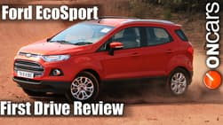 Ford EcoSport EcoBoost (petrol) First Drive Review
