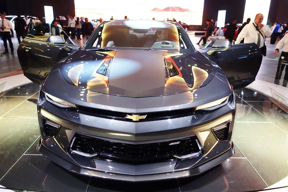 Chevrolet Camaro Anniversary Edition Showcased On Completion Of The