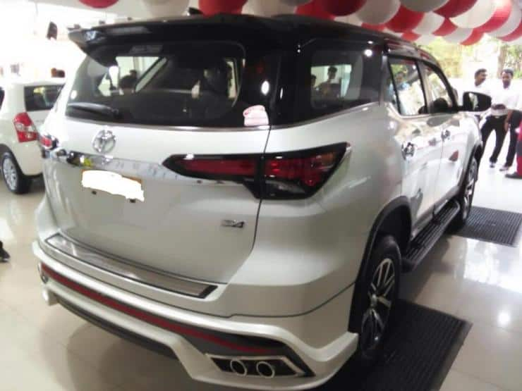 Toyota Fortuner Nippon Body Kit Here Is How To Make This Suv Even