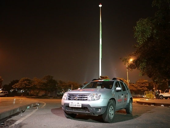 Driving in Renault Duster - Freedom Drive Experience