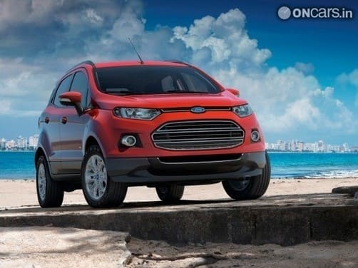 Elegant Ford EcoSport To Spawn A 7 Seater Version