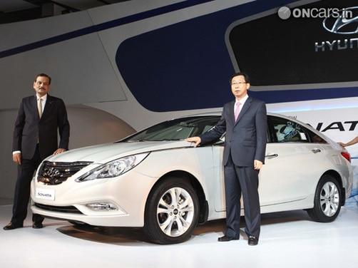 Hyundai Sonata fluidic facelift in the works