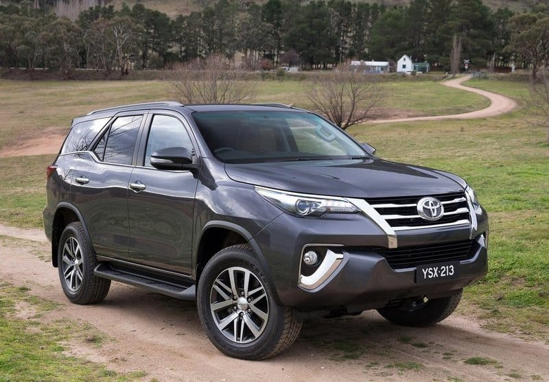 toyota new car release in india2016 Toyota Fortuner to come with both petrol and diesel