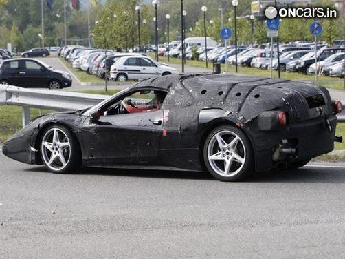 Spy Shots  2014 Ferrari Enzo successor test mule  Find New