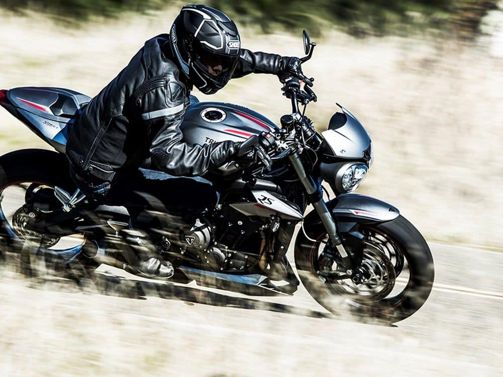 2017 Triumph Street Triple Unveiled, Gets three power options