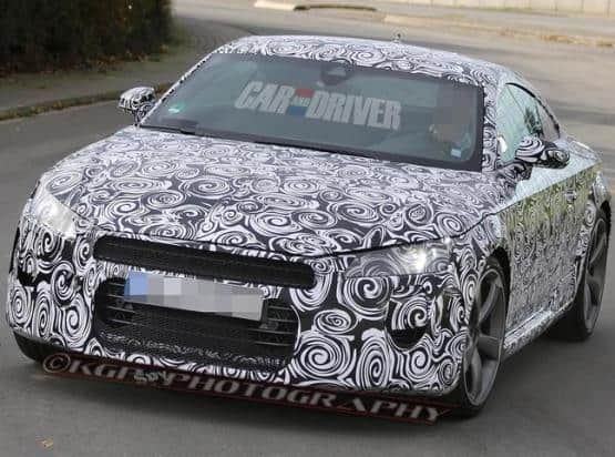 Lighter, More Powerful 2015 Audi TT Spied On Test