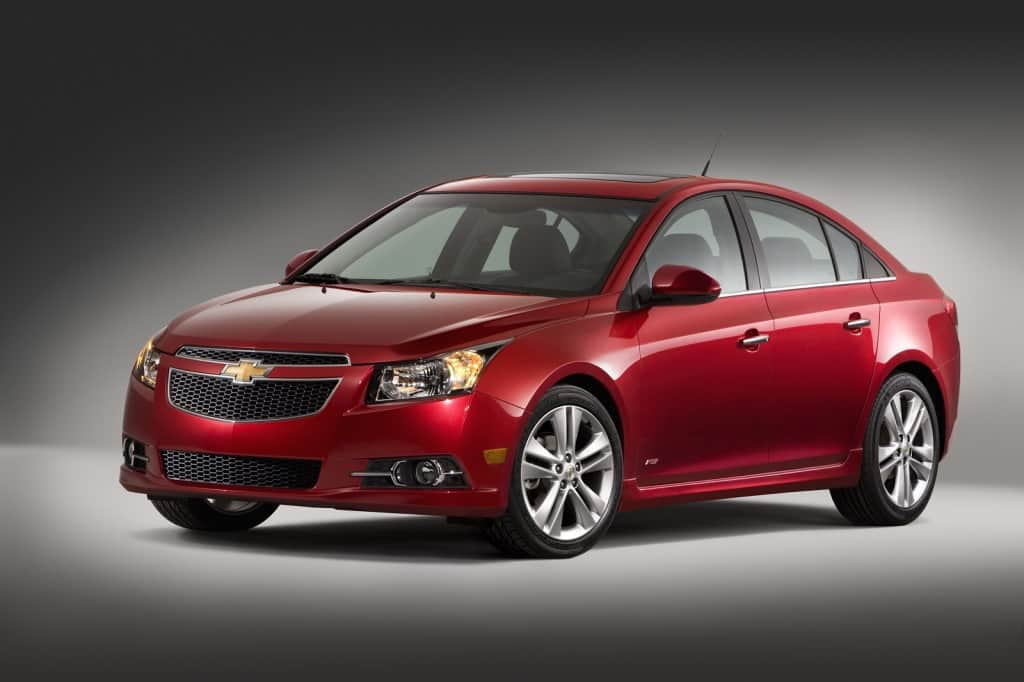 General Motors recalls Chevrolet Cruze Sedan