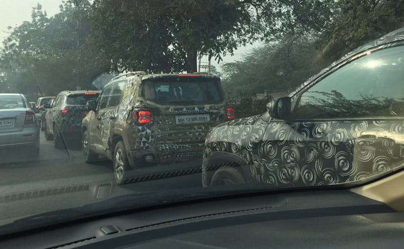 new car launches expectedJeep Compass Mule spotted again Launch expected in Mid2017