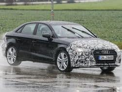 India-bound Audi A3 facelift spied testing for the first time