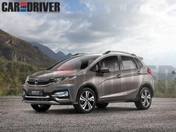 Honda Jazz based WR-V Compact Crossover rendered