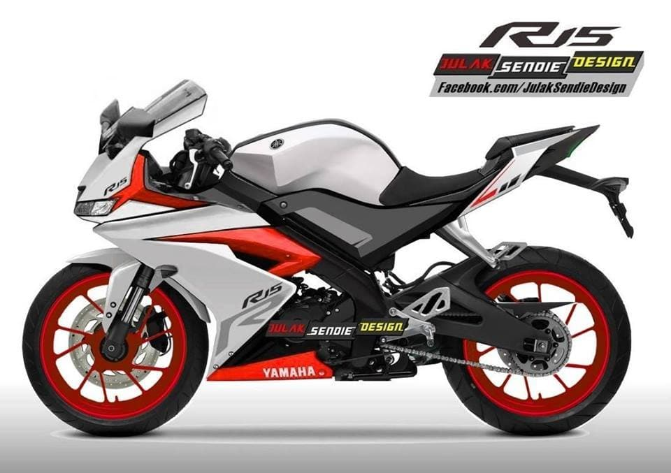 Yamaha YZF R15 V30 Images In Multiple Angles And Colour
