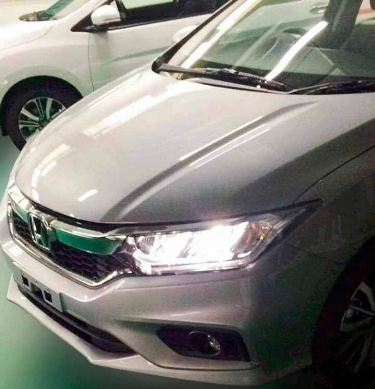 Honda City Facelift Spotted Completely Undisguised Launching In
