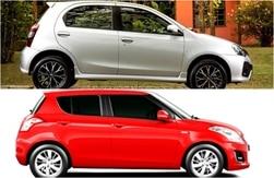 2016 Toyota Etios Liva facelift vs Maruti Suzuki Swift: Price, Features & Specifications Comparison