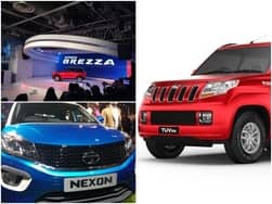 Tata Nexon Vs Maruti Vitara Brezza Vs Mahindra TUV300: Price, Design, Specs – Comparison