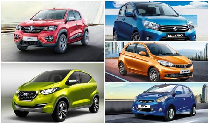 Top 5 cars in India under INR 5 lakh in 2016