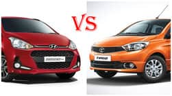 2017 Hyundai Grand i10 facelift Vs Tata Tiago price in India
