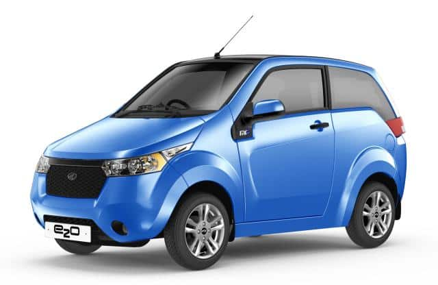 Mahindra e2o 2-door pulled off from official site; Likely to be discontinued