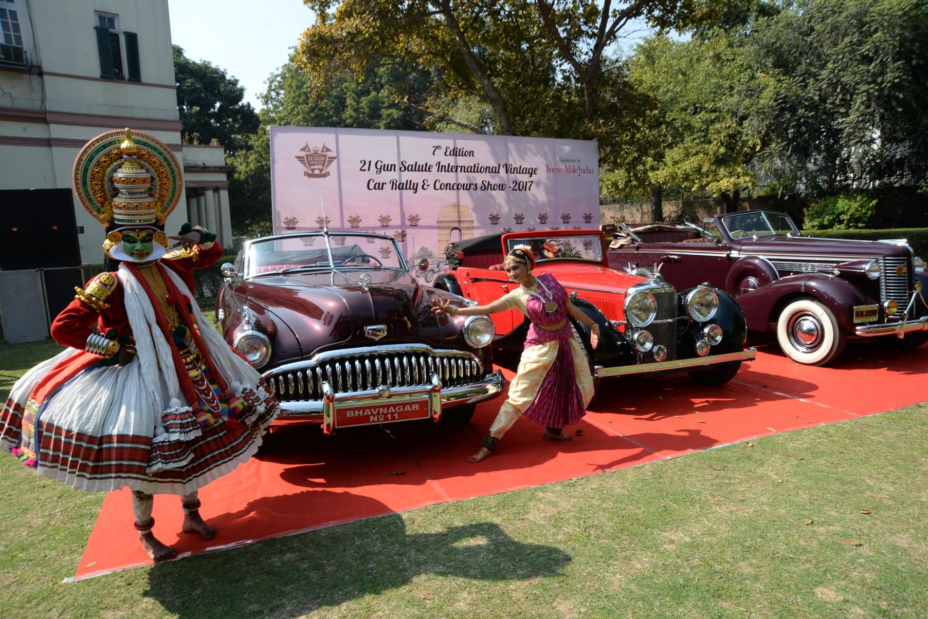 7th edition of 21 Gun Salute Intenational Vintage Car Rally and ...