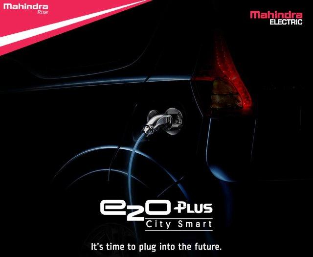 Mahindra to launch the e2o Plus in India tomorrow