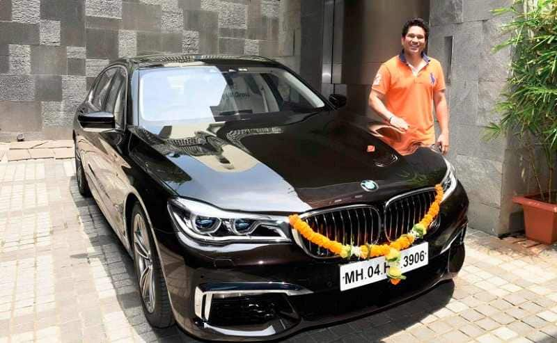 Sachin Tendulkar Becomes Proud Owner Of Customized BMW 750Li M Sport His Other Car Collection