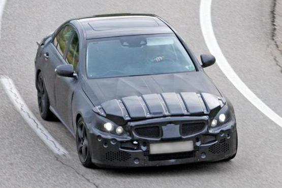 Scoop: 2014 Mercedes Benz C63 AMG saloon caught