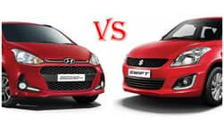 2017 Hyundai Grand i10 facelift Vs Maruti Suzuki Swift price in India