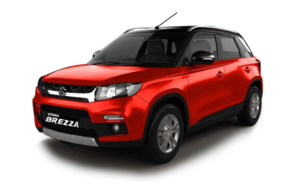 Maruti Vitara Brezza achieves great success: 1.72 lakh bookings received till date