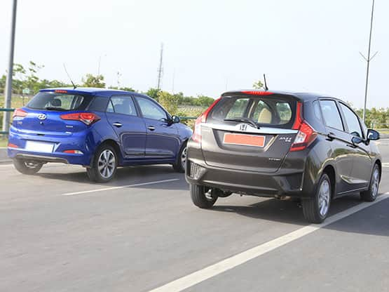Honda Jazz 2015 Vs Hyundai Elite i20: Design Comparison