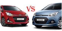 2017 Hyundai Grand i10 Facelift Vs Old Hyundai Grand i10 price in India