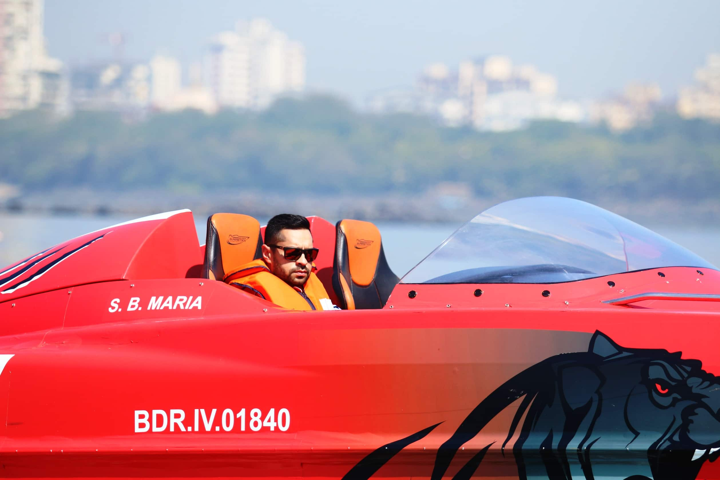 Indian Motor-sporting heroes CS Santosh and Gaurav Gill to compete in Nexa P1 Powerboat Racing