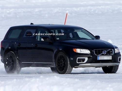 Volvo begins testing 2015 XC90; prototype spied in the snow