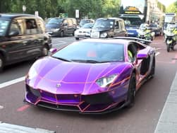 Video : Uninsured Lamborghini Aventador could end up in a crusher