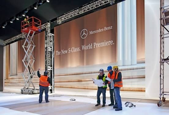 All-new Mercedes Benz S-Class will premiere at the Airbus A380 Delivery Centre