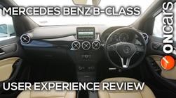 Video : Mercedes Benz B-class User Experience