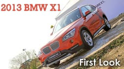 First Look: 2013 BMW X1