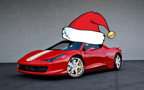 5 supercars that you wish santa would bring you this for Ferrari christmas